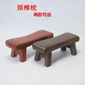22X8CM pequeño banco de madera almohada para dormir Cervical almohada cojín almohada de masaje fresco almohada dura