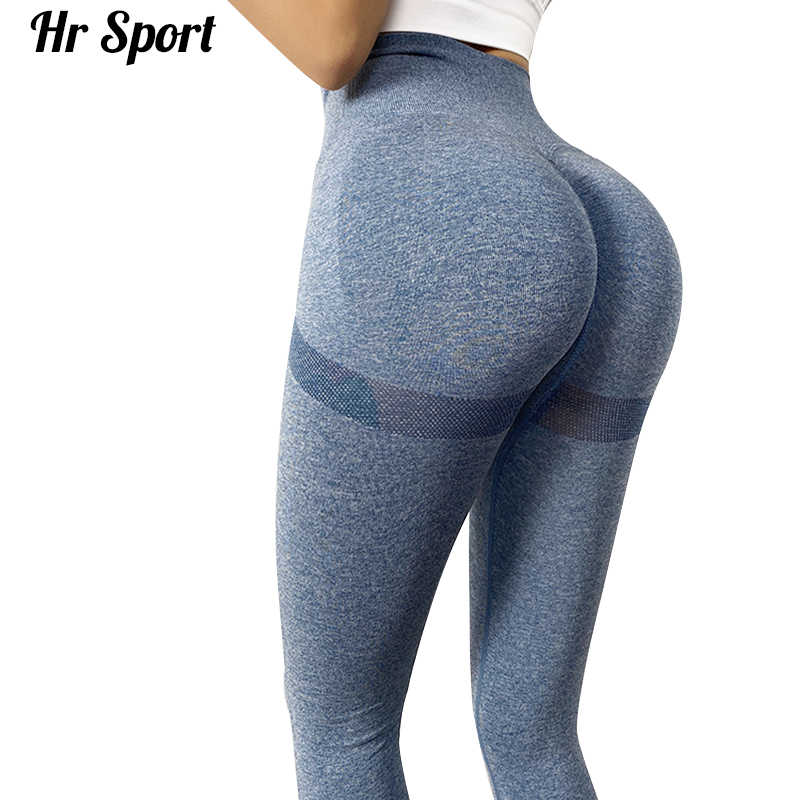 Hohe Taille Kompression Strumpfhosen Sport Hosen Push-Up Lauf Frauen Gym Fitness Leggings Nahtlose Bauch-steuer Yoga Hosen Stretchy