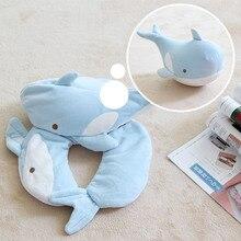 Pillows Cushion-Pattern Neck-Protection Shark-Deformation Foam-Particles U-Shaped Car