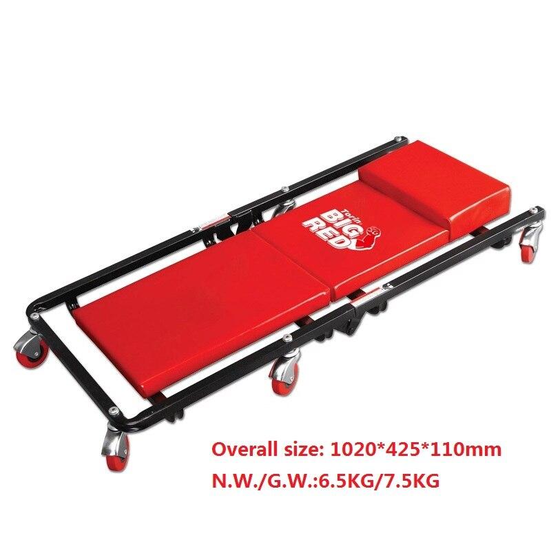 Ремонт автомобиля лежа доска авто шасси проверить Лежащая пластина с колесами скейт доска Гараж инструмент