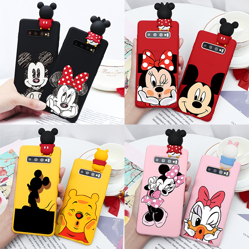 Couple Cartoon Soft TPU Back Cover For <font><b>Samsung</b></font> Galaxy A70 A60 A50 A40 A30 A20 A20e A10 A9 <font><b>A8</b></font> A7 A5 A3 <font><b>2018</b></font> 2017 M30 M20 M10 Case image