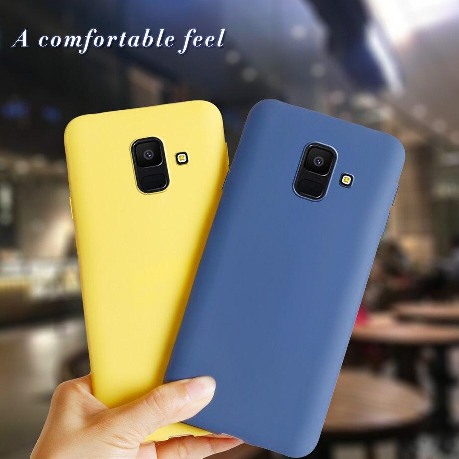 Чехол для телефона, чехол для Samsung Galaxy A6 2018 Samsung A 6 Plus A6Plus 2018 A600F A610F, мягкие силиконовые чехлы на заднюю панель, чехлы, Coque