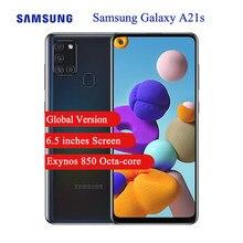 Versão global samsung galaxy a21s celular 6.5