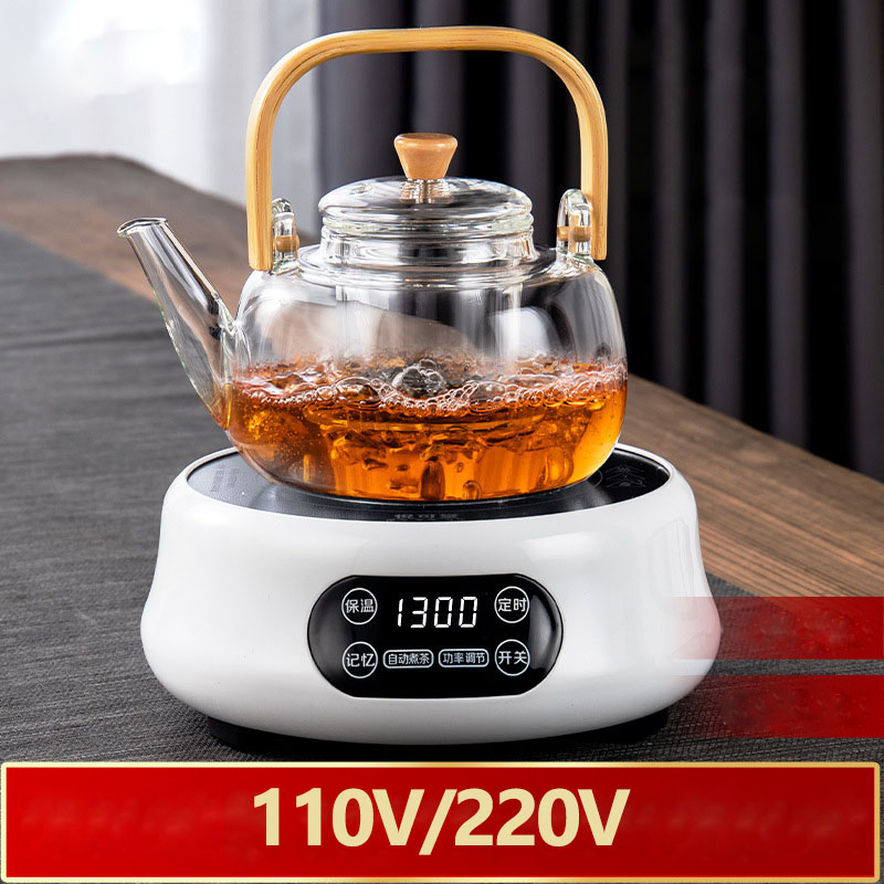 110V/220V Electric Heater Stove Hot Cooker Plate Milk Water Coffee Tea Heating Furnace Multifunctional Kitchen Appliance 1300W - 2