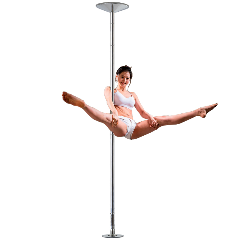 Spinning 360 Pole Dance Equipment 45mm Pole Kit Home Removable Dance Training Pole For Beginner Professional Stripper HW149