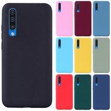 Para samsung galaxy a50 caso silicone transparente capa traseira caso do telefone para samsung a50 a505 a505f SM-A505F a 50 tpu macio caso