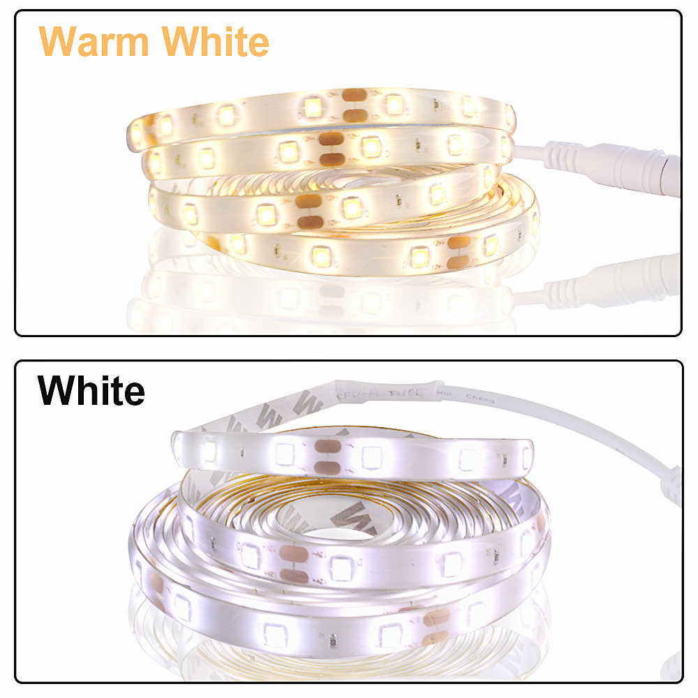 ワイヤレスpirモーションセンサーledキャビネットライト12下ストリップ12vウォームホワイト防水ワードローブクローゼledテープ夜ランプ