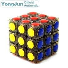 YongJun LingGan 3x3x3 Magic Cube YJ 3x3 Professional Neo Speed Puzzle Antistress Educational Toys For Children yongjun diamond symbol 3x3x3 magic cube yj 3x3 professional neo speed puzzle antistress fidget educational toys for children