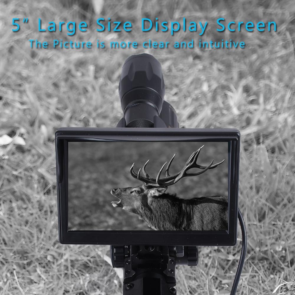 Caça visão noturna riflescope tactical scopes óptica