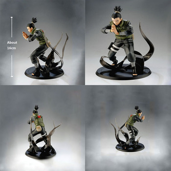 Naruto Action Figures Nara Shikamaru PVC Figures Model Toys Collectible Gifts for Kids Action Figure Toys 16cm Naruto