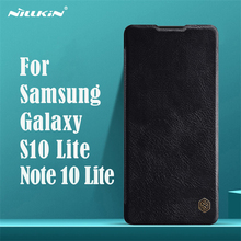 Dành Cho Samsung Galaxy S10 Lite Dạng Flip Case Nillkin Qin Vintage Da Flip Cover Thẻ Bỏ Túi Ví Dành Cho Samsung Note 10 lite Túi