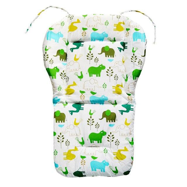 Nuevo Bebé niños silla cojín estera asientos cojín estera de alimentación silla cojín Mat 100% de algodón