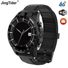 """JingTider V9 4G 스마트 워치 MTK6739 쿼드 코어 3GB + 32GB 1.6 """"X360 Smartwatch 800mAh 듀얼 5.0MP 카메라 GPS 블루투스 안드로이드 7.1"""