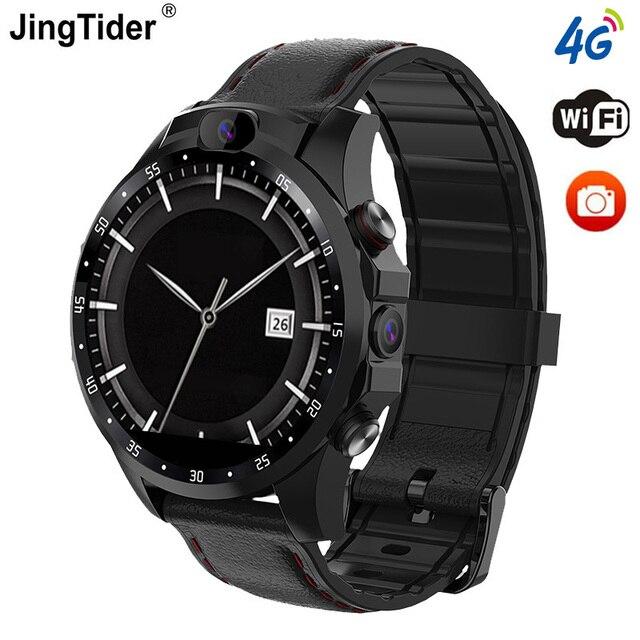 "JingTider V9 4G Смарт часы MTK6739 4 ядра 3 ГБ + 32 Гб 1,6 ""X360 Smartwatch 800 мА/ч, два 5.0MP Камера GPS Bluetooth Android 7,1"