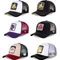 Бейсболка в сеточку с покемонами из аниме «Пикачу чармандер», Кепка в стиле хип-хоп, Детская кепка для маленьких девочек и мальчиков, детска...