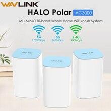 Enrutador WiFi Gigabit AC3000, enrutador WiFi inalámbrico, 2,4G + 5Ghz, sistema de malla WiFi en casa, puente repetidor WiFi completo