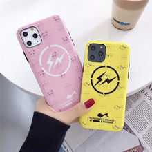 Pokemons Pika Leuke Telefoon Paar Case Grappige Cartoon Case Cover Voor Apple iPhone 6 6s 7 8 Plus X XS XR XS Max 11 Pro Max(China)