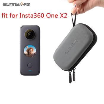 Insta360 jeden X2 Mini torba do przechowywania futerał do przenoszenia dla Insta360 jeden X 2 akcesoria do kamer sportowych tanie i dobre opinie CACHALOT For Insta360 One x One x2 Other CN (pochodzenie)