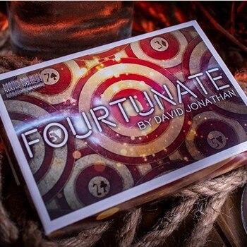 Fourtunate (Fortunate) by David Jonathan and Mark Mason - Magic tricks