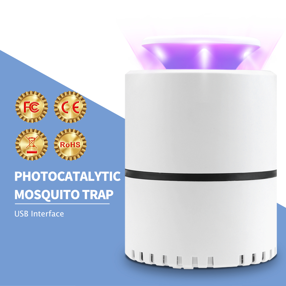 WENNI Mosquito Killer USB Anti Insect Repellent LED Mata Mosquito Trap Lamp Electric Bug Zapper Fly Light UV Lamp Pest Control