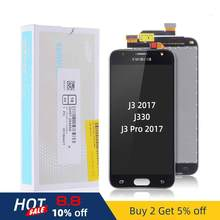 Original LCD SAMSUNG J3 2017 Display Touch Digitizer for SAMSUNG Galaxy J3 2017 LCD Replacement Screen J3 Pro 2017 J330 J330F(China)