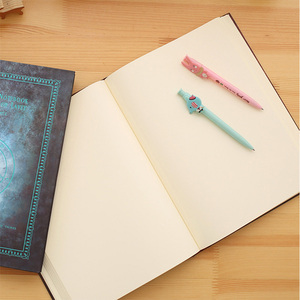 Image 4 - A4 Drawing Book Vintage Blank Notebook Thickening Notepad Sketch Book Doodle Book Magic Book