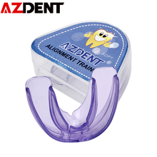 Orthodontic Braces Trainer Teeth-Alignment Mouth-Guard Silicone AZDENT Tooth-Tray