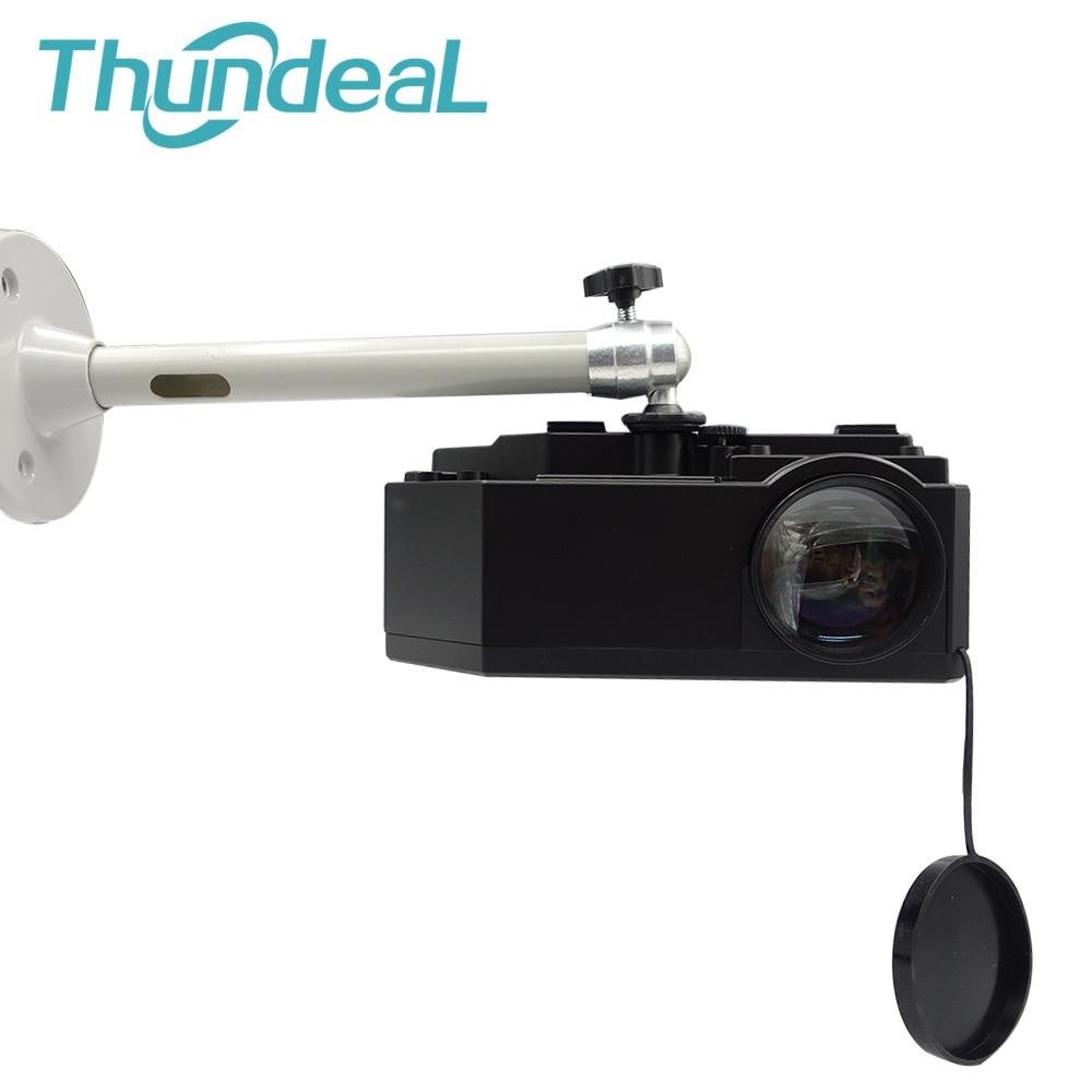 6mm Camera Monopods 21cm Projector Tripod Metal Wall Mount 1/4 Hanger Mounting Kit C80 YG420 TD90 Mini Projector Camera Bracket 2