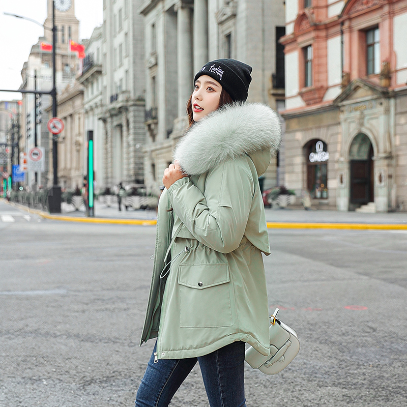 Winter Parkas 2020 winter women's coats hooded fur collar thick  warm winter Jackets snow wear warm jackets