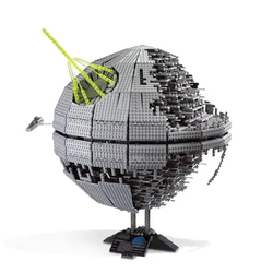 05026 In Stock 5002 3449pcs Star Wars Street Death Star II Building Blocks Bricks Education Toys Compatible with 10143
