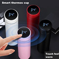 Smart Insulation Cup Male and Female Student Portable Water Cup Creative Personalized Trend Mass Simple Temperature Tea Cup