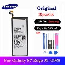 10 шт/лот запасная батарея для samsung galaxy s7 edge g9350