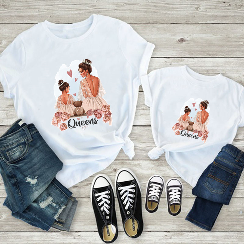 Queens Mommy and Me Matching T-Shirt