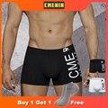 Hot Underwear Men Cotton Boxer Homme Brand Men's Pantie Men Underpants Sexy Men's shorts U Convex Pouch High Quality CM212