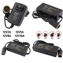 AC To DC Power Adapter 12V Car Adapter Converter Cigar Light