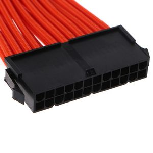1 Set 30/40cm Grundlegende Verlängerung Kabel PC GPU CPU Netzteil Kabel Draht 24PIN 6 + 2Pin 6PIN 4 + 4PIN Computer Anschluss