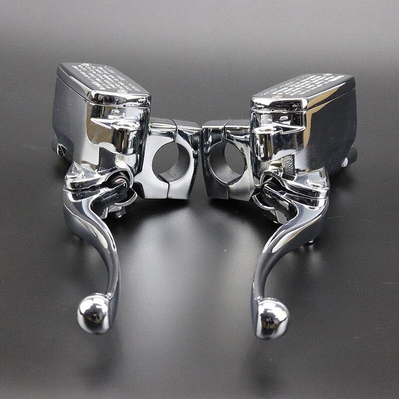 1 Pair Brake Master Cylinder Clutch Levers For Suzuki Intruder 800 1400 1500