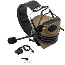 Тактические наушники comtac ii с усилением шума электронное
