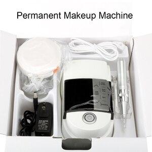 Image 1 - Новое поступление светильник и Удобная тату машина для бровей губ Eyeline цифровой Перманентный макияж машина ручка комплект