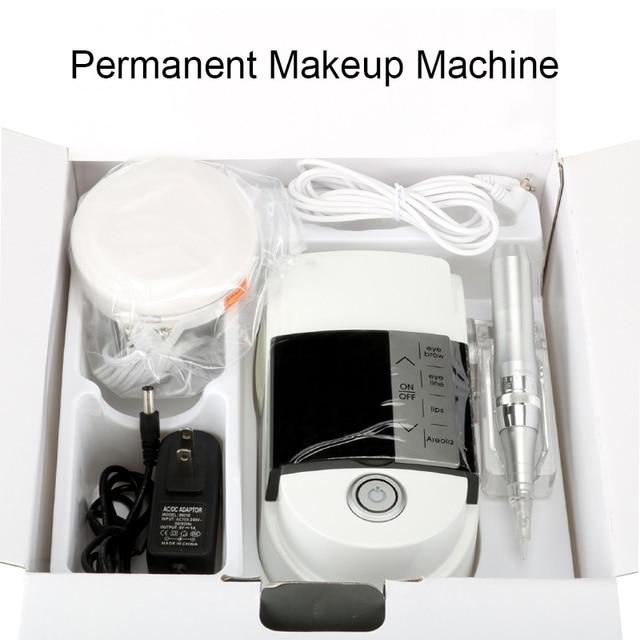 Новое поступление светильник и Удобная тату машина для бровей губ Eyeline цифровой Перманентный макияж машина ручка комплект