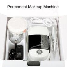 Neue ankunft Licht und bequem Tattoo Maschine Augenbraue Lip Eyeline Digitale Permanent Make Up Maschine Stift Kit