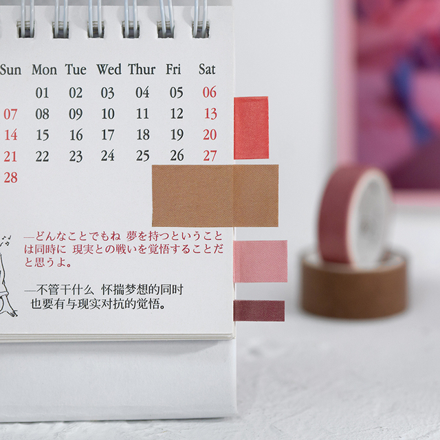 8 pièces week-end cinéma boîte couleur Washi ruban ensemble Vintage film adhésif masquage rubans décoration autocollants journal maison bricolage Art A6552