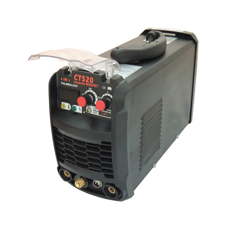EMPO 3 In 1 Welding Machine 110V 220V Portable Air Plasma Cutter CT520 Inverter TIG/MMA/CUT Multi-use Machine Kaynak Makinesi