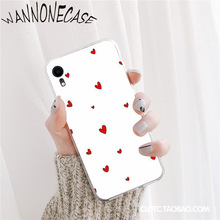 Cute colorful love heart Cover Soft Shell Phone Case For iPhone 8 7 6 6S Plus X XS MAX 5 5S SE XR 11 11pro promax Mobile Cases shopping girl enjoying life colorful cute phone case for iphone 8 7 6 6s plus x xs max 5 5s se xr 11 11pro promax coque shell