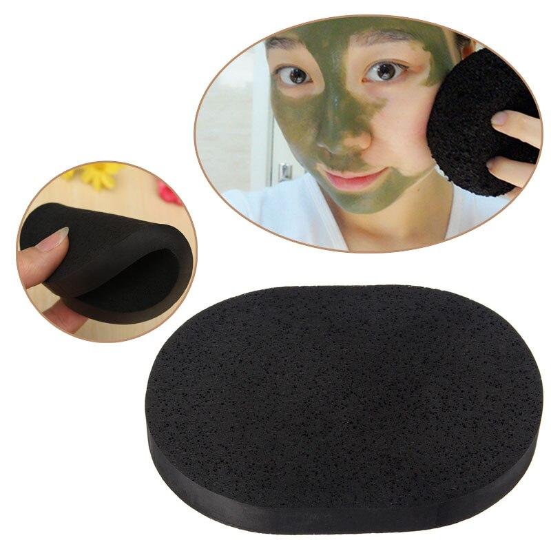 Купить из бамбука и древесного угля для лица буфами на рукавах глубокого