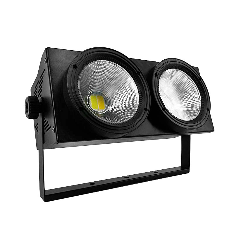 LED COB 2eyes 2x100W Blinder Lighting DMX Stage Lighting Effect DMX Controller Club Show Night DJ Disco,SHEHDS Stage Lighting