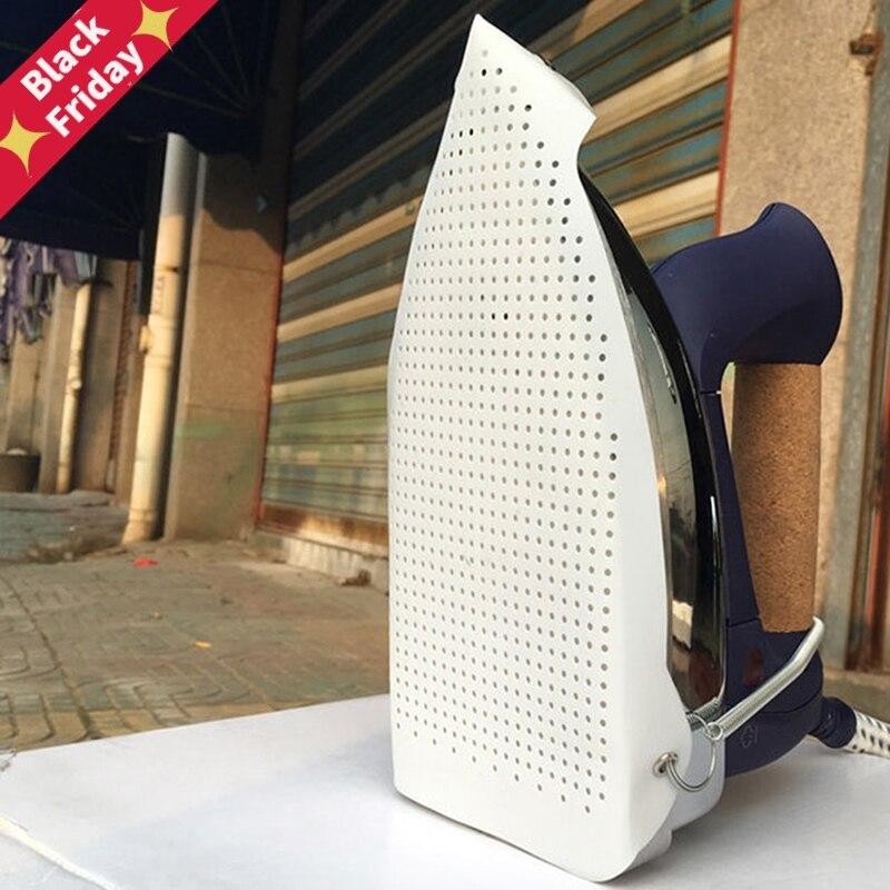 Capa de sapato de ferro capa de sapato de engomar placa de ferro capa protector protege o seu ferro soleplate para uso duradouro