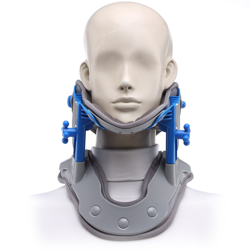 Medical neck collar correction repair neck cervical traction apparatus moxibustion heat treatment of cervical spine massager