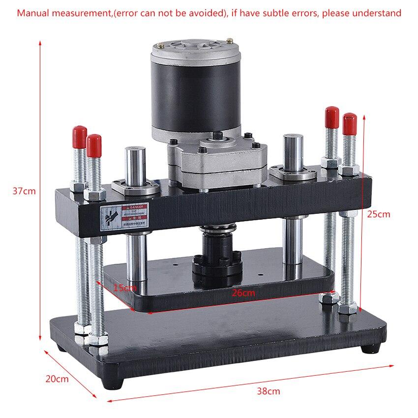 Neue 110-220V 200W Elektrische Standard Kleine Stanze Drücken EVA PVC Sterben-schneiden Maschine Leder abflachung Maschine (260*150mm)