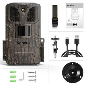 Image 5 - Cámara de caza por infrarrojos WIMIUS 1080P, cámara de 16MP, 940nm IR, Led de visión nocturna, detección de movimiento, resistente al agua, cámara de rastreo para caza silvestre